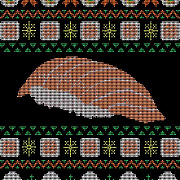 sushi ugly sweater  by manikx