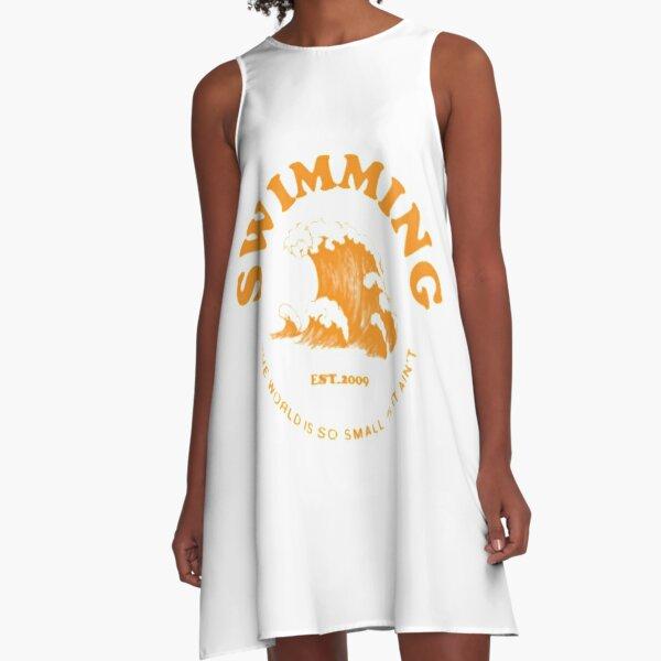 mac miller swimming A-Line Dress