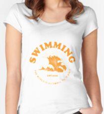 Mac Miller Schwimmen Tailliertes Rundhals-Shirt