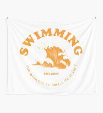 Mac Miller Schwimmen Wandbehang