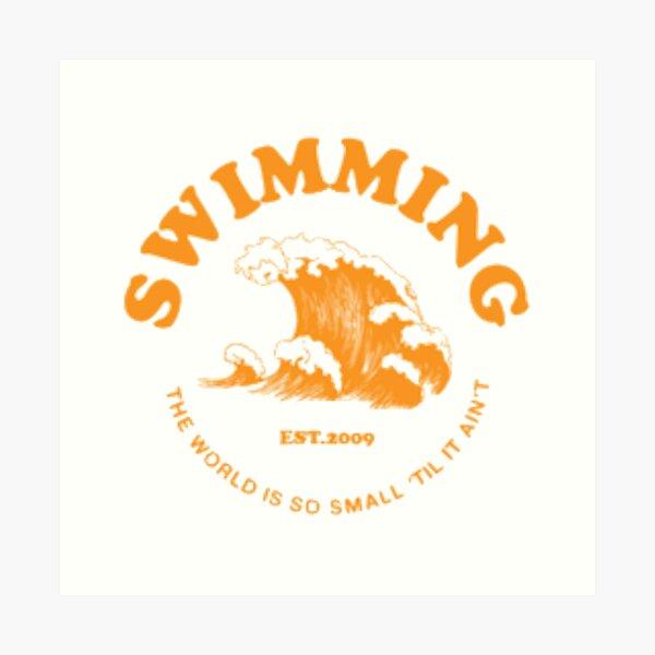 mac miller swimming Art Print
