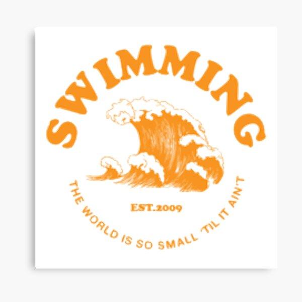 mac miller swimming Canvas Print