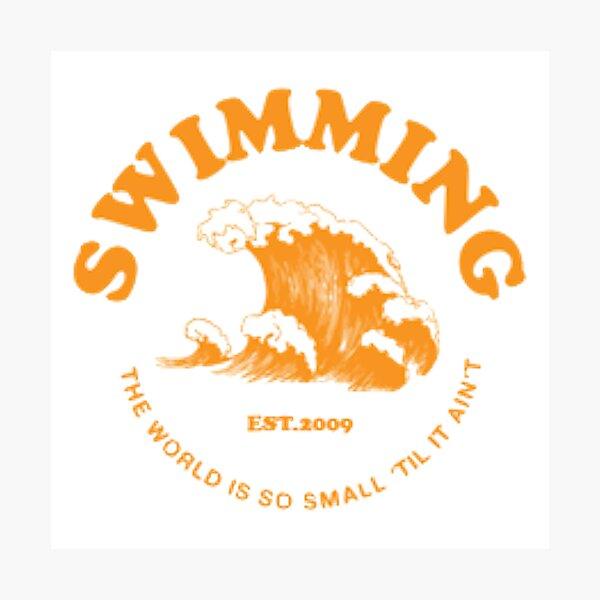 mac miller swimming Photographic Print