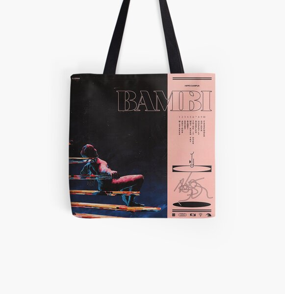 hippo campus bambi All Over Print Tote Bag