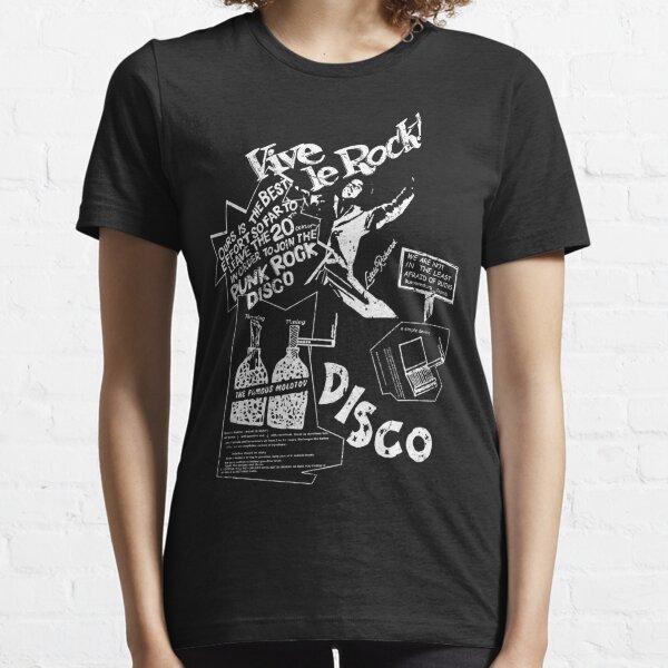 Vintage Look Vive Le Rock. Essential T-Shirt