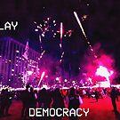 Democracy in Gwanghwamun by Mitchell Blatt, China Travel Writer