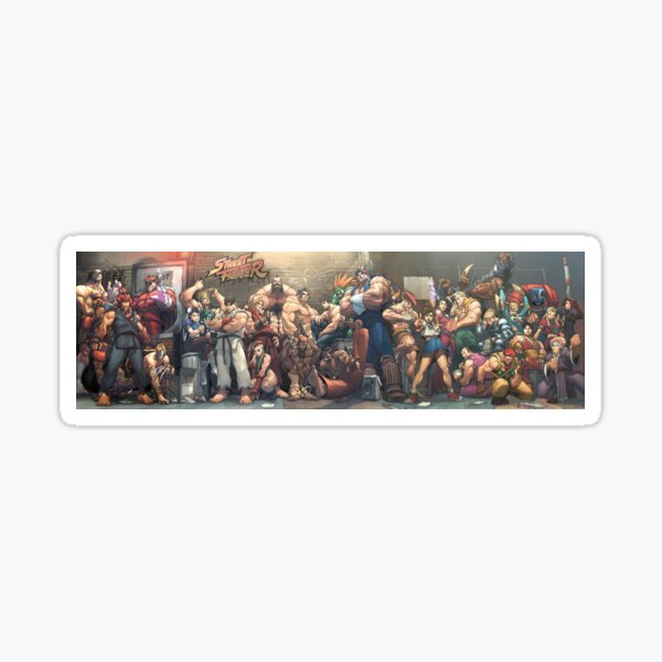 Couverture Street Fighter Sticker