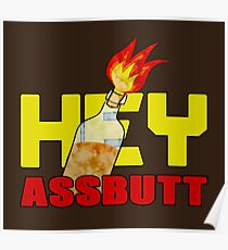 Hey, Assbutt! Poster