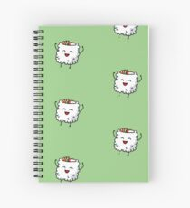 California Roll Sushi Pal Spiral Notebook