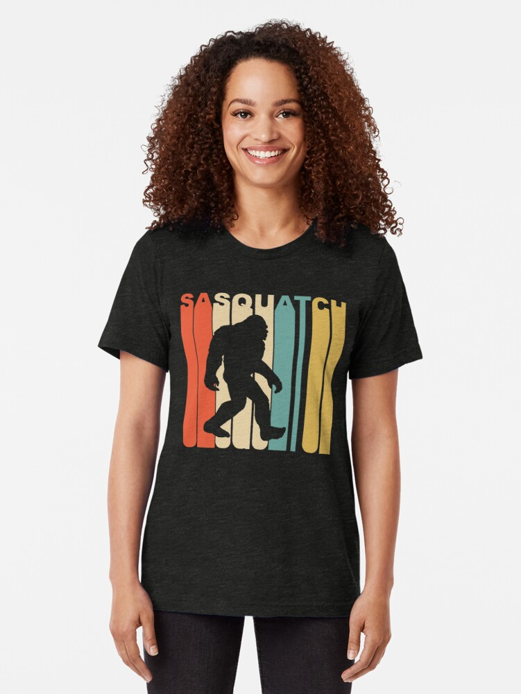 Alternate view of Sasquatch Tri-blend T-Shirt