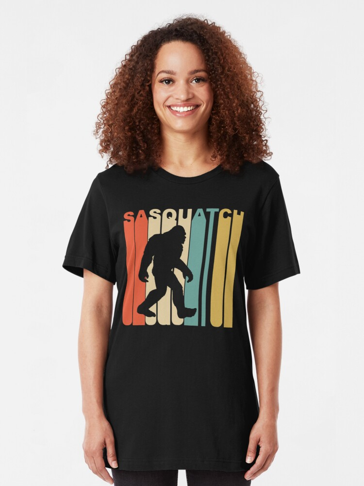 Alternate view of Sasquatch Slim Fit T-Shirt