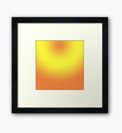 Colorful Background Framed Print