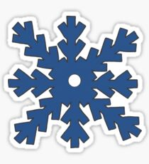 Motif flocons de neige Sticker