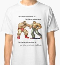 Zangief and Haggar, powerbombs and lariats Classic T-Shirt