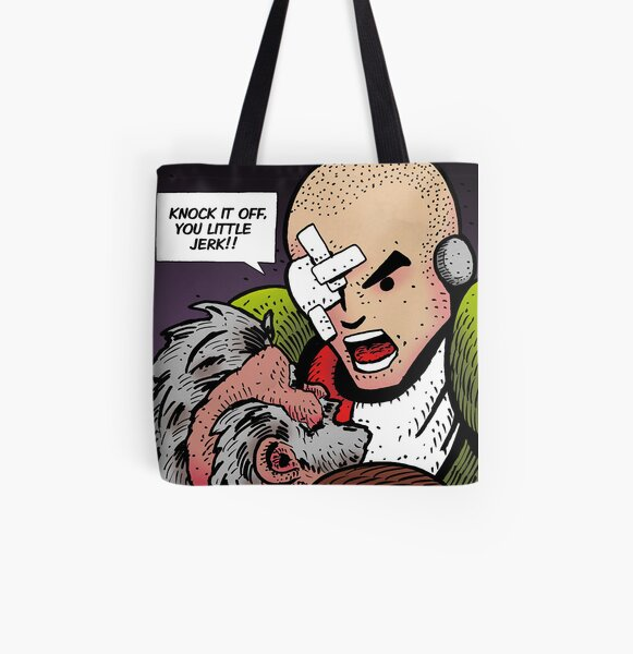 Life The Necropolis: Yell All Over Print Tote Bag