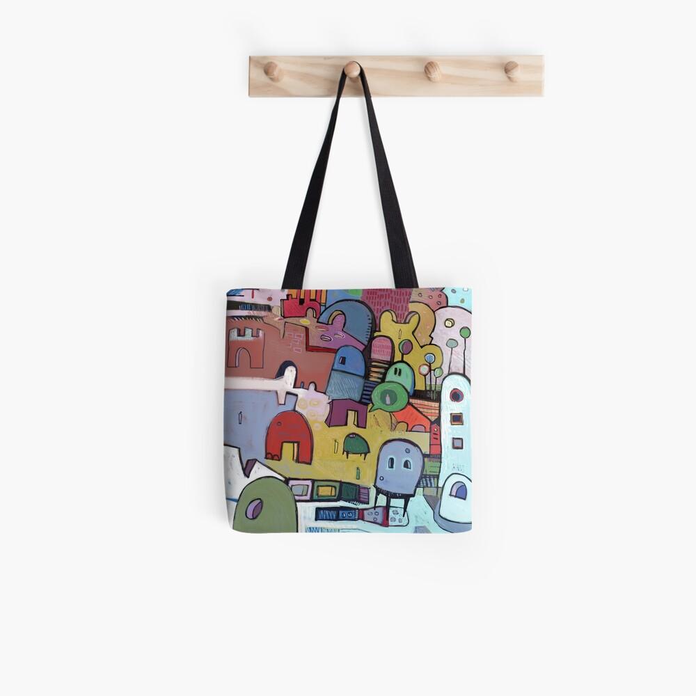 open to evoke Tote Bag