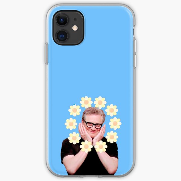 Cute Colin Firth iPhone Soft Case