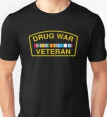 Drug War Veteran Unisex T-Shirt
