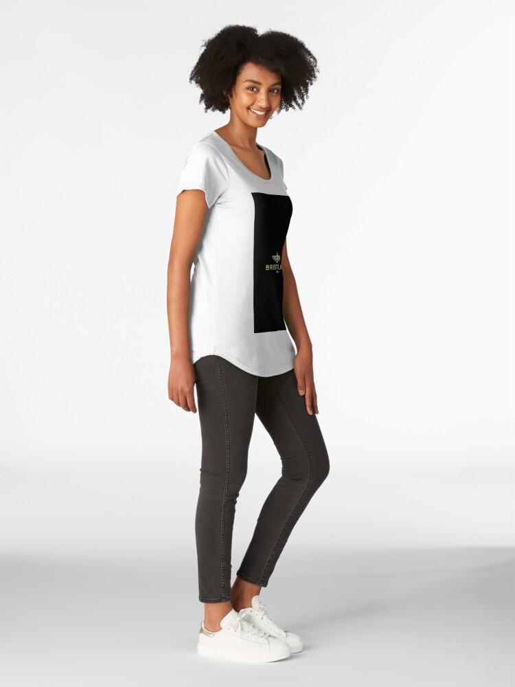 Alternate view of Breitling Premium Scoop T-Shirt