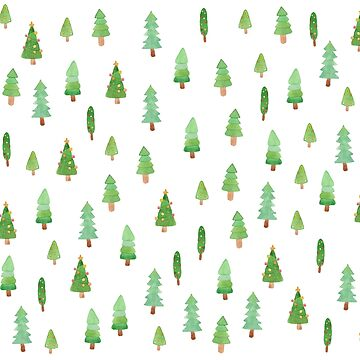 patterns Everyday | Those Little Christmas Trees by jjsgarden
