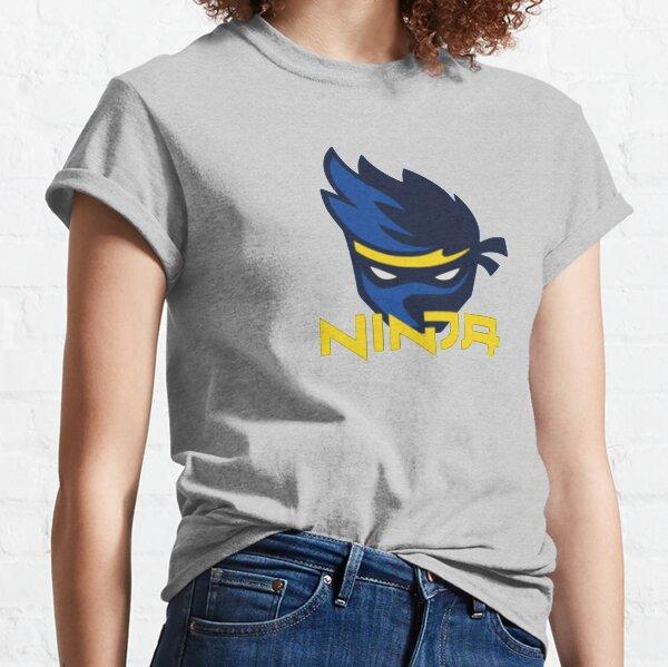 Logo Ninja Camiseta clásica