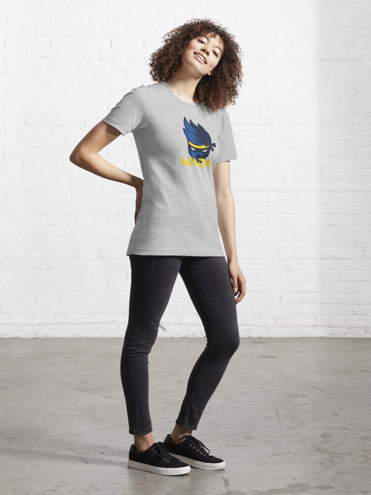 Alternate view of Ninja Logo Essential T-Shirt