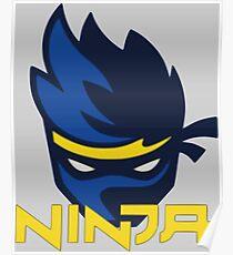 Ninja Logo Poster