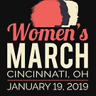 Women's March 2019 Cincinnati Ohio by oddduckshirts