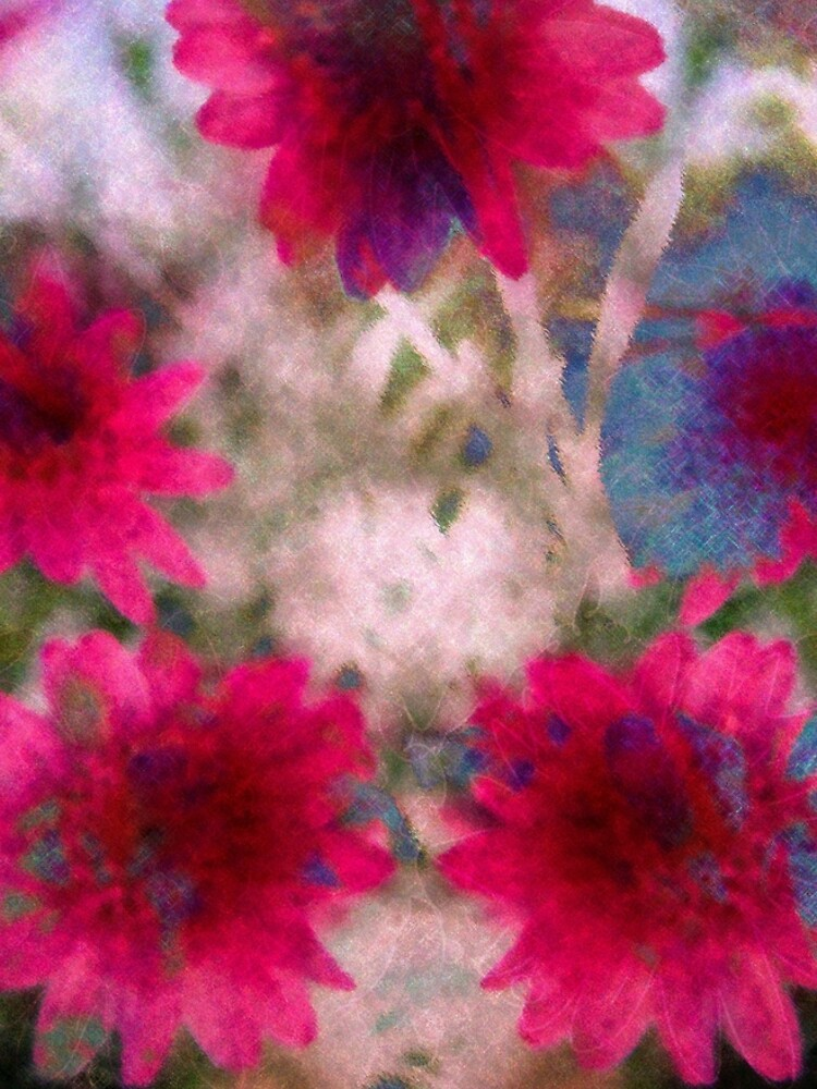 Abstract flowers by hidden-design
