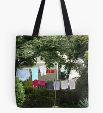 Mind that Washing, Claas! Tote Bag