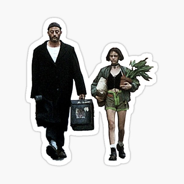 Leon the Professional Sticker