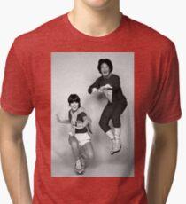 Dynamic Duo \\ Mork and Mindy Tri-blend T-Shirt