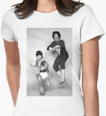 Dynamic Duo \\ Mork and Mindy Women's Fitted T-Shirt