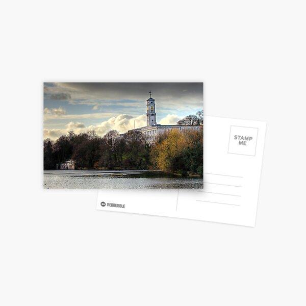 Highfields Park, Nottingham Postcard