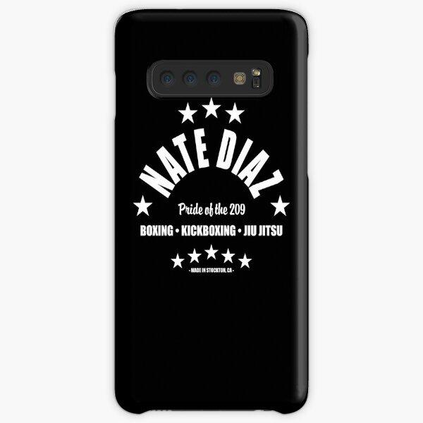 Nate Diaz WHT Samsung Galaxy Snap Case