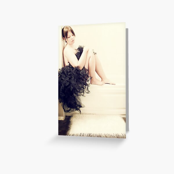 black swan Greeting Card