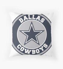 Dallas Cowboys Circle  Throw Pillow