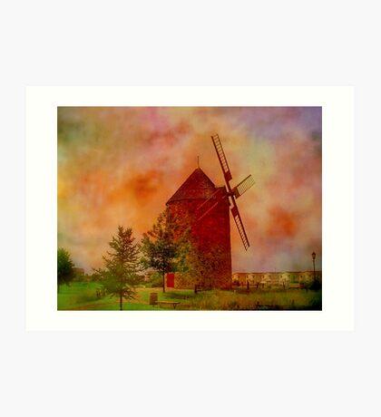 La Belle Province  Quebec   Art Print