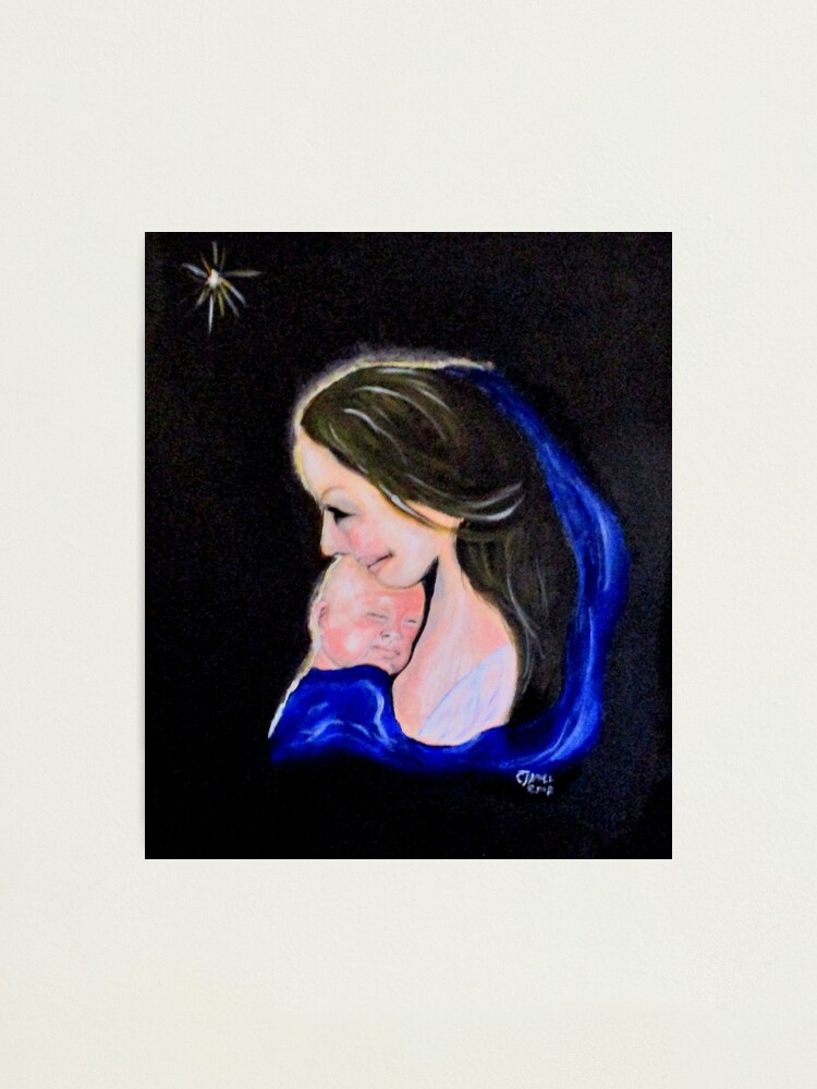 Alternate view of Madonna and Child Photographic Print