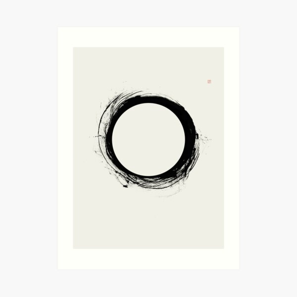 Eclipse (West Meets East Series) Art Print