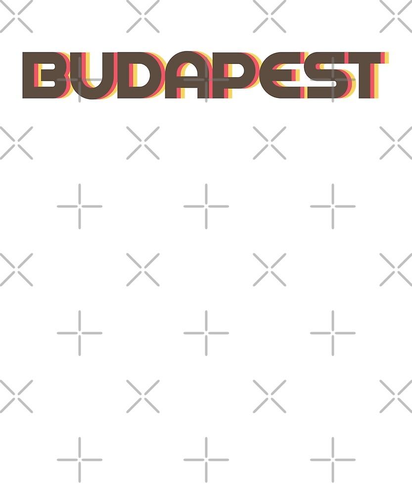 Retro Budapest T-Shirt by designkitsch