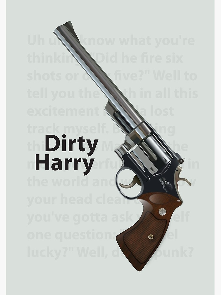 Dirty Harry by MoviePosterBoy
