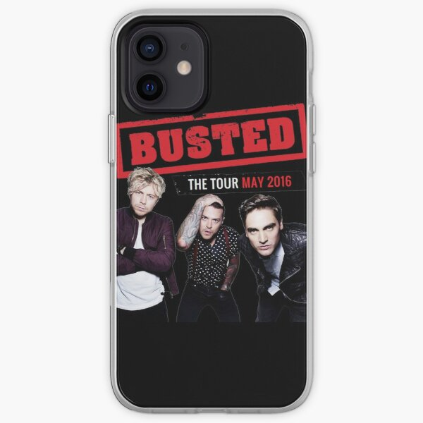 Busted Tour 2016 iPhone Soft Case