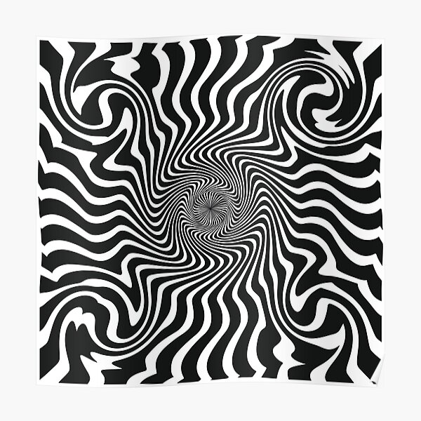 optical spin Poster
