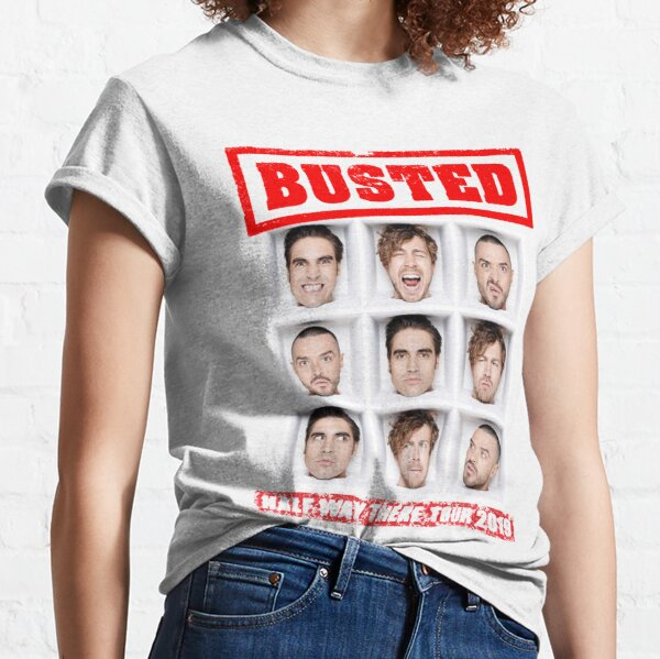 Busted tour 2019 Classic T-Shirt