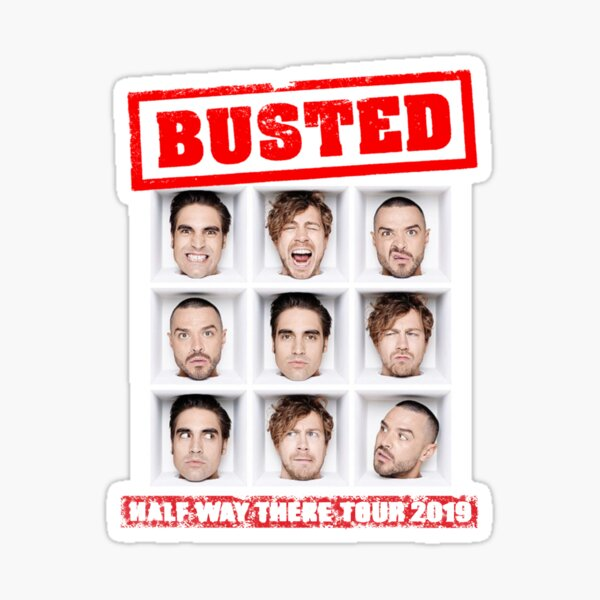 Busted tour 2019 Sticker