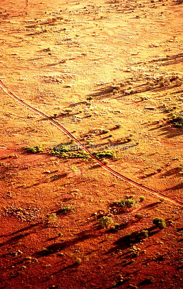 The Road Home Outback Australia by Ronald Rockman