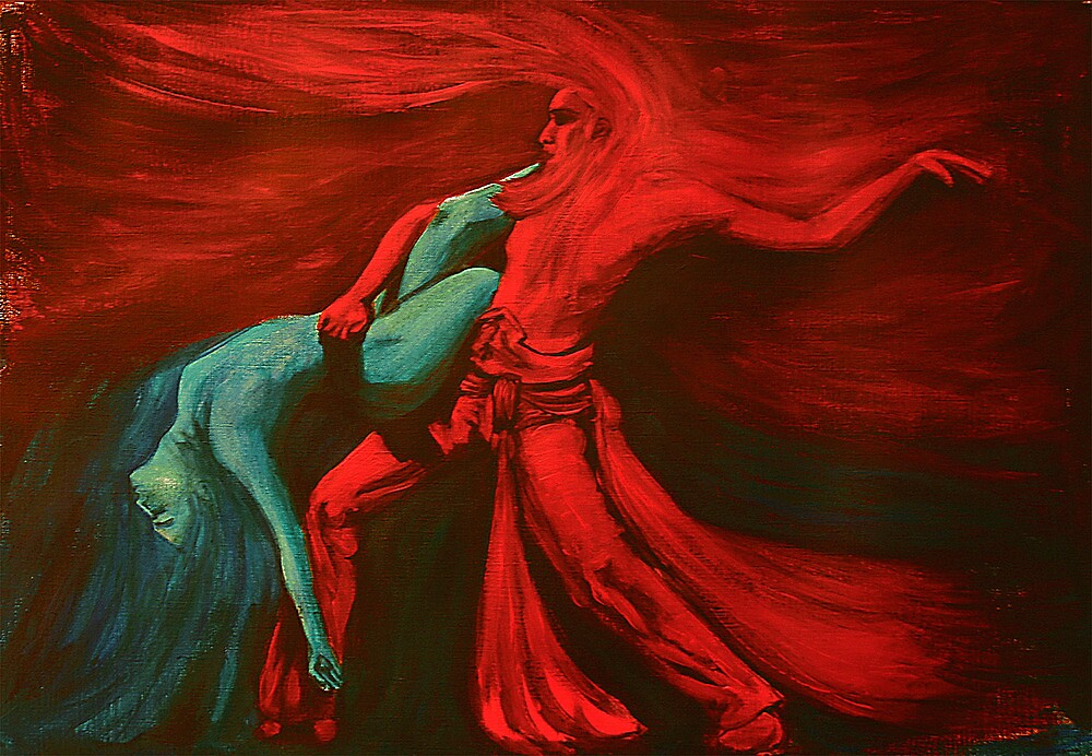 Fire and water dance    by Marilyns