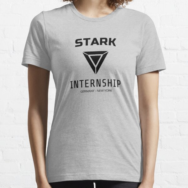 Práctica Stark - Negro Camiseta esencial