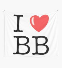 I Love the BB Wall Tapestry